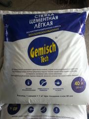 Стяжка цементная легкая теплошумоизоляционная (полистиролбетонная смес
