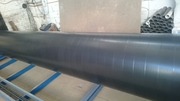 Трубы стальные с ленточным  антикоррозионным защитным ПВХ покрытием. - foto 0
