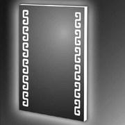 Купить прямоугольное зеркало с  LED подсветкой в Новосибирске - foto 0