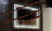 Купить прямоугольное зеркало с  LED подсветкой в Новосибирске - foto 1