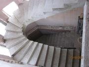 Строительство бетонных монолитных лестниц - foto 0
