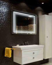 Зеркало для ванной с LED подсветкой от производителя Интерьер НИКС - foto 0